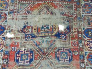 Antique Caucasian Dagıstan Rug