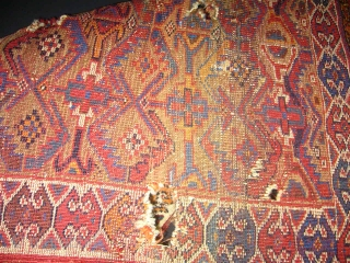 Antique Avsar Small Rug