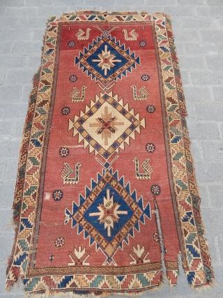 Old Dagıstan Avar Rug