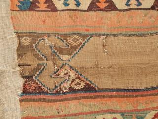 West Anatolian Kilim Fragment
