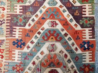 Soughteast Anatolian Kilim Fragment