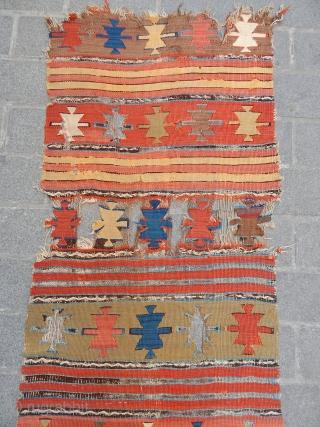 Central Anatolian Kilim Runner