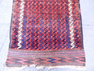 Antique Timuri Baluch Rug .www.anatolianpicker.com