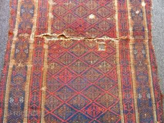 Antique Baluch Rug Fragment