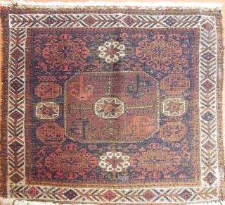 Antique Baluch Bagface Size.70x77 cm