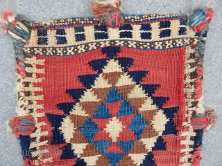 Antique Bijar Kilim Bag size.40x34 cm