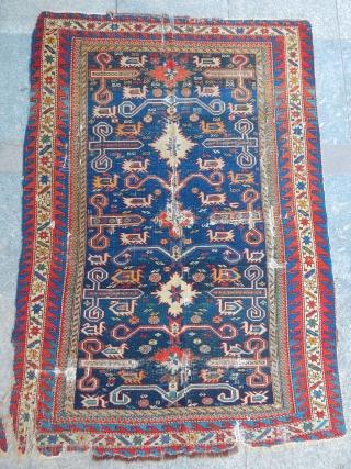 Wonderfull Caucasian Perepedil Sirvan Rug