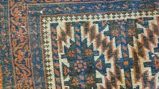 Antique Baluch Rug  Size:160x90cm