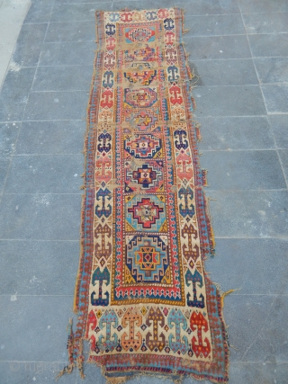 Antique Shahsavan Mogan Rug