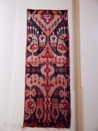 Antique Uzbek Ikat Textile