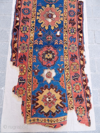 Antique Caucasian Kuba Rug