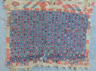 Antique East Anatolian Cecim Saddle Bagface
