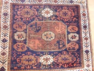 Antique  Baluch Rug Bagface