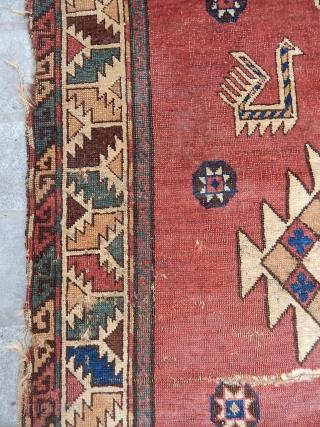 Antique Caucasian Dagıstan Avar Rug  size.230x125cm