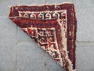 Antique Shahsavan Sumak Bagface  size.37x38cm