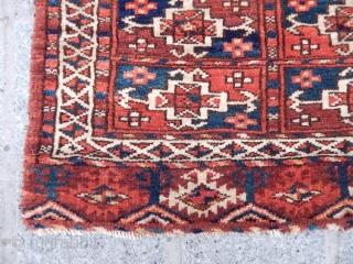 Antique Turkmen Yamut Bagfaces  size.38x47 cm 40x50 cm