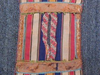 Antique Shahsavan Silk Sadlle Bag