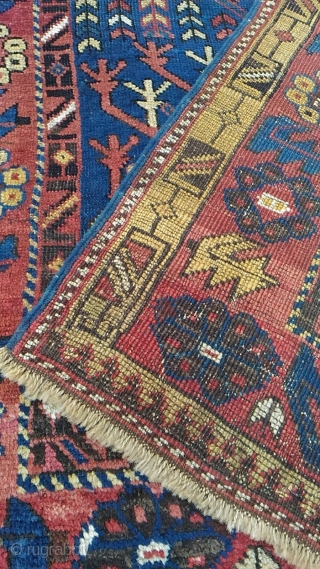Antique Caucasian avar rug