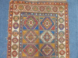 Antique Caucasian Mogan Rug