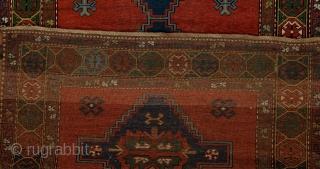 Antique Caucasian Gence Rug
