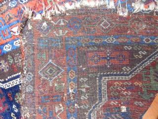 Antique East Anatolian Yörük Rug  Size.195x122cm