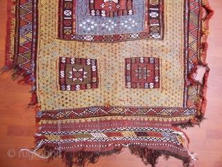 Antique West Anatolian Cecim  Size.190x127cm