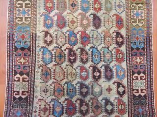 Antique Caucasian Akstafa Prayer Rug  Size.180x92cm