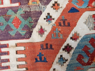 Antique Sought East Anatolian Kilim 