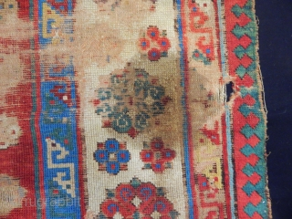 Antique Talish Sirvan Rug Frangment