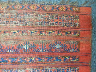 Antique Turkmen Ersari Chuval