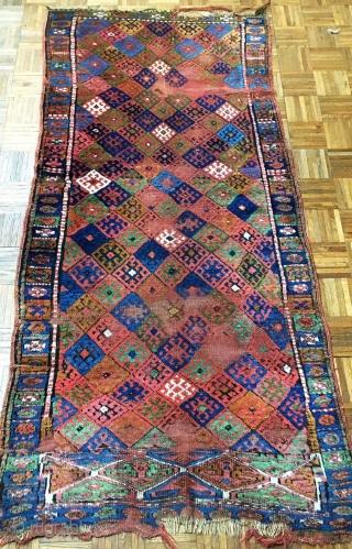 Antique Jaff Kurdish Rug