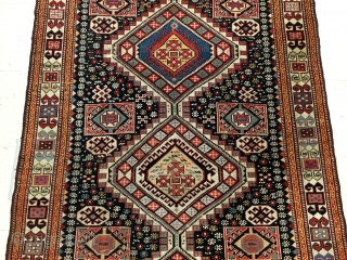 Antique Akstafa Sirvan Rug