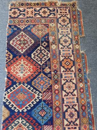 Old Sırvan Rug Fragment size.130x60cm