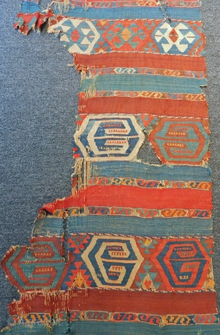 Antique east Anatolian Kilim fragment 