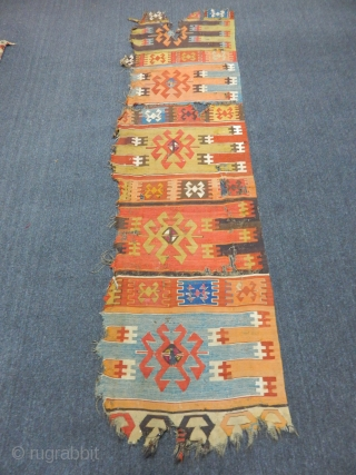 Antique Anatolian Kilim Fragment