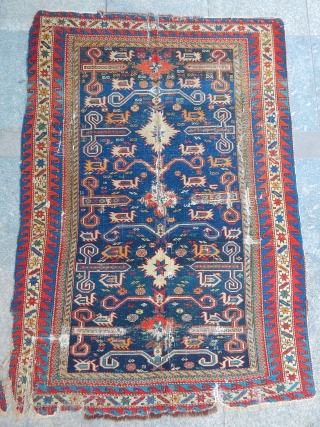 Antique Perepedil Sirvan Rug