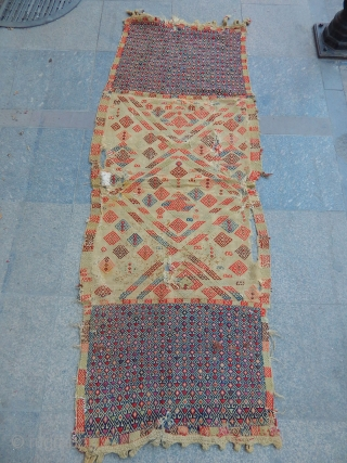 Old East Anatolian Sadllebag Kilim