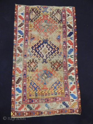 Antique Shahsavan Rug Fragment