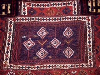 Antique Bahtiyar Bag Face Fragment