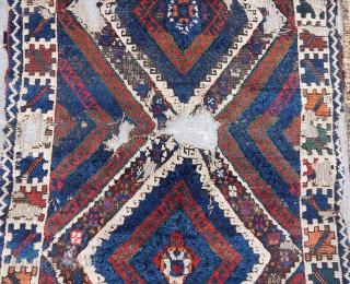 Antique West Anatolian Karakeceli Rug