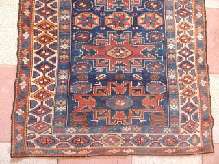 Old Lezgi Sirvan Rug  size.155x115cm