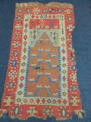 Old Konya Obruk Prayer Kilim