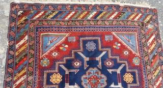 Antique Kuba Sırvan Rug