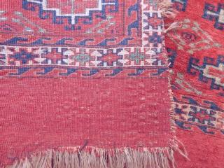 Antique Turkmen Yamut Chuval