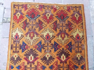 Antique Anatolian Aksaray Rug  size.150x80cm