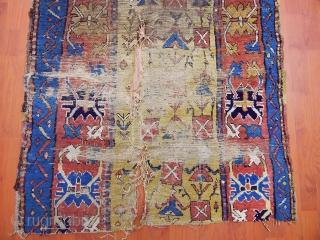 Antique Shahsavan  Rug Fragment  size.140x90cm