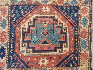 Antique Shahsavan Sumak Bag Face  size.51x53cm