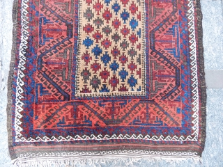 Antique Baluch Rug  Size:185x103cm