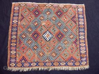 Antique Jaff Rug Bagface  size.82x100 cm