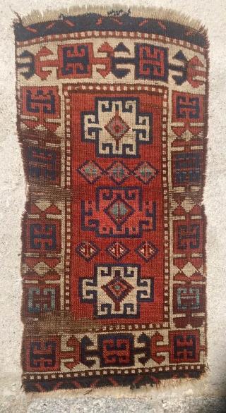 Antique East Anatolian Savak Yörük Yastık